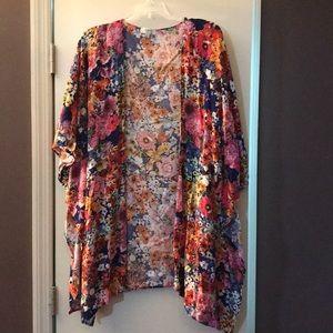Umgee Floral Kimono EUC